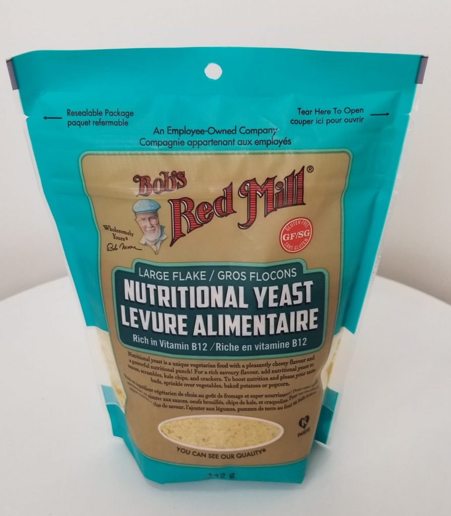 Large Flack Nutritional Yeast, Rich in Vitamin B12.